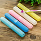 Travel Travel Toothbrush Container/Protector / Inflated Mat Portable Toiletries Plastic