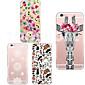 MAYCARI®Giraffe Soft Transparent TPU Back Case for iPhone 6/6S(Assorted Colors)