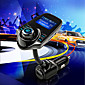T10 Super Bluetooth Car Kit Handsfree FM Transmitter Wireless MP3 Music Player Support TF Card,5V 2.1A USB Car Charger