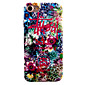 For iPhone 7 7 Plus 6S 6 Plus Case Cover Flower Pattern Oil Color Relief Luminous PC Material All-inclusive Phone Case