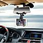 Car Phone Holder  INSOU 360 Degree Universal Adjustable Car Rear-view Mirror Mount Mobile Phone Holder Stands for Smartphones